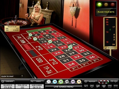 inline casinos live roulette