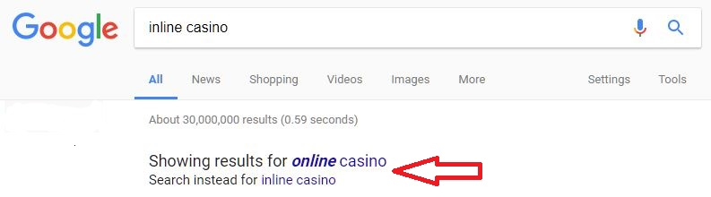 inline casinos search results